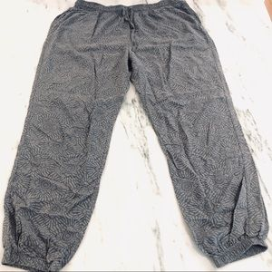 Uniqlo Grey Patterned Joggers